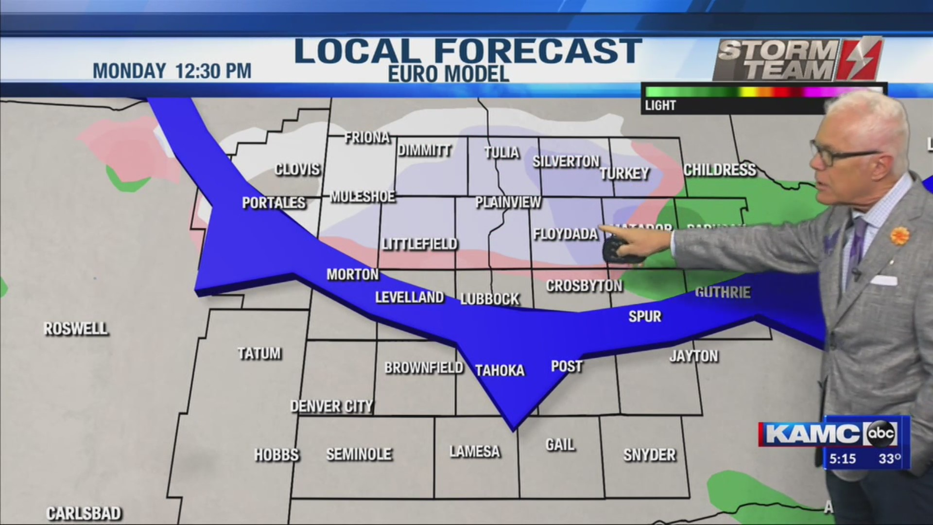 KAMC Weather Webcast with Meteorologist Ron Roberts: November 7th, 2019