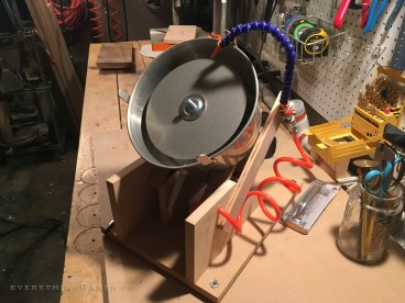 DIY Homemade Slanted Lapidary Grinding Wheel Stand - NateBerends.com - 0107-17-171130