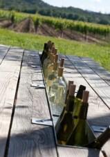 Picnic Table Bottle Holder