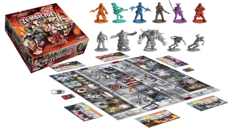 Everything Mixed 10 Best Zombie Board Games for the