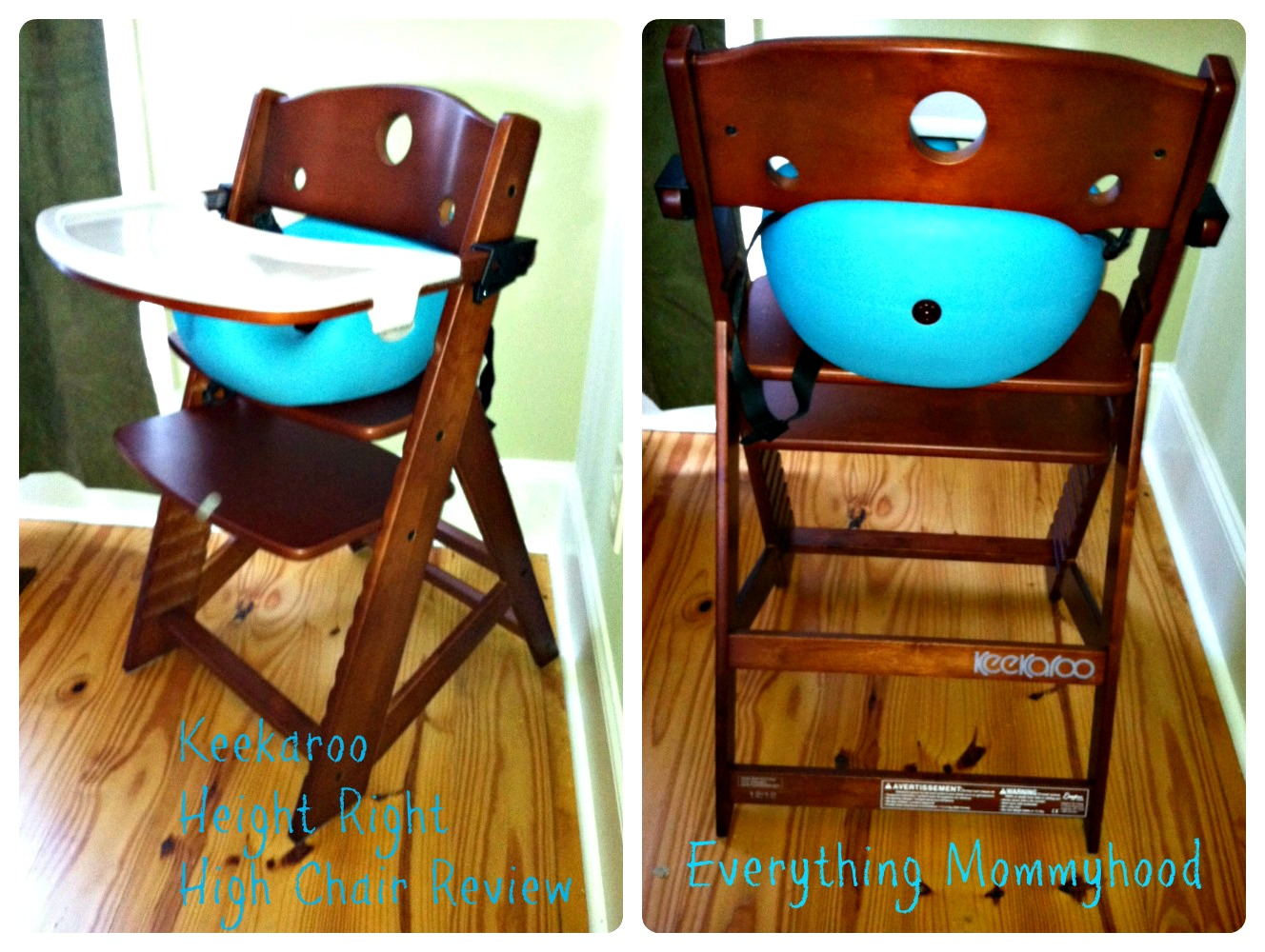 keekaroo high chair alps mountaineering grand rapids height right and accessory review