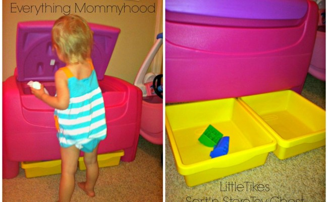 Little Tikes Sort N Store Toy Chest Review Giveaway