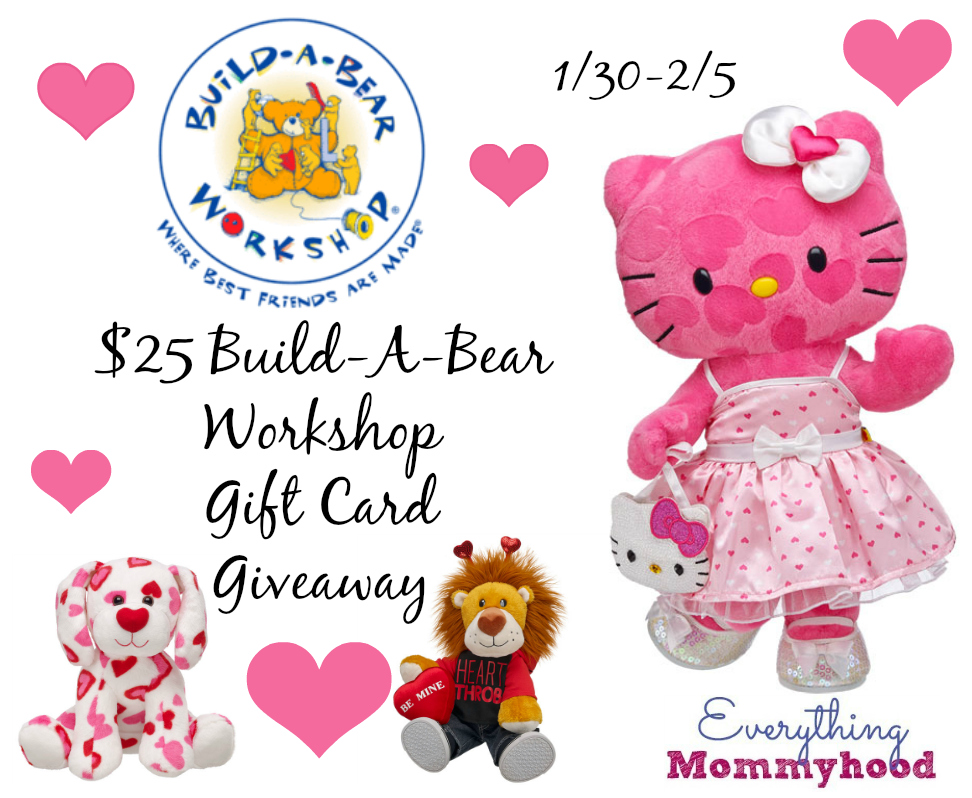 Valentines Hello Kitty Build A Bear Workshop Review 25 Gift – Hello Kitty Valentine Cards