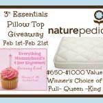 Blogger Opp: Naturepedic Mattress Topper $650-$1000 Value
