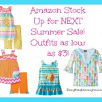 Lots of Great Baby, Toddler, and Kids Clothing Deals on Amazon from $3!