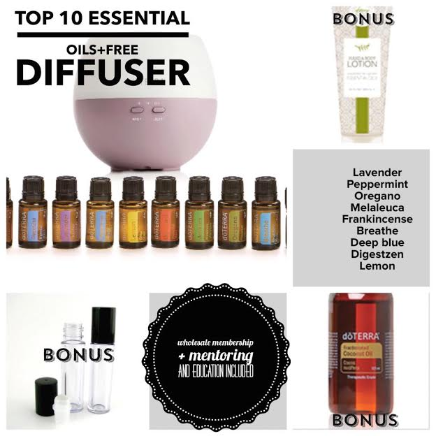DoTerra Petal Diffuser and Citrus Bliss Essential Oil Giveaway- ends