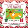 100 Toys R Us Gift Card Giveaway Ends 12 15