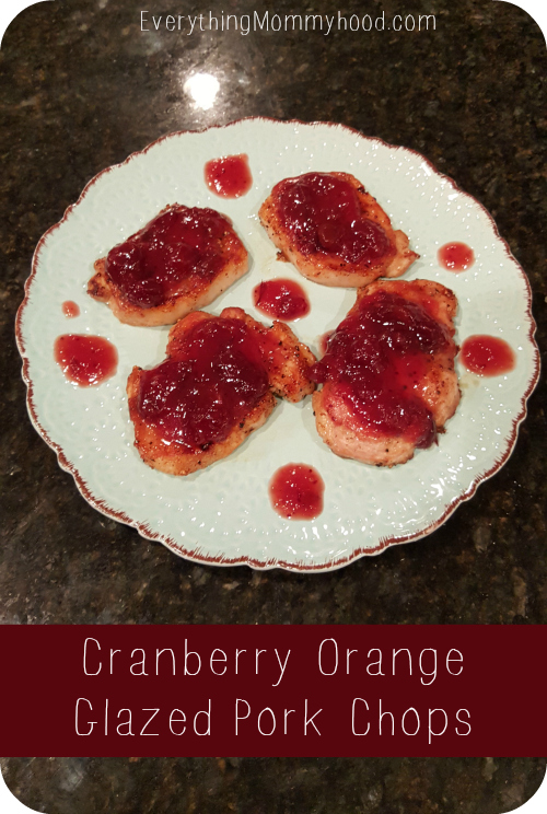 cranberry porkchops