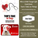 $100 Target Gift Card Giveaway – ends 12/31