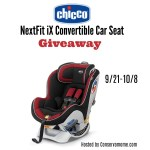 Chicco NextFit iX Convertible Car Seat Giveaway – ends 10/8