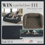 Brentwood Home Pet Bed Giveaway – ends 12/11