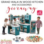 Step2 Grand Walk-In Wood Play Kitchen & Accessories Giveaway – ends 12/13