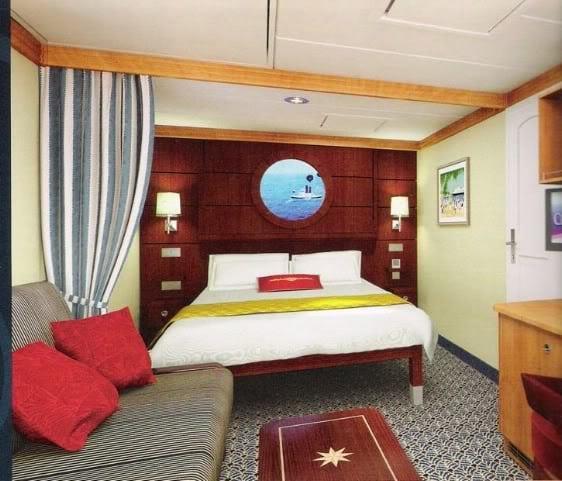 Disney Dream Cruise Staterooms