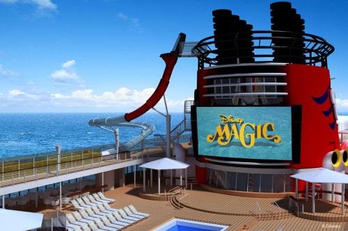 Dare you ride the Disney Magic AquaDunk?