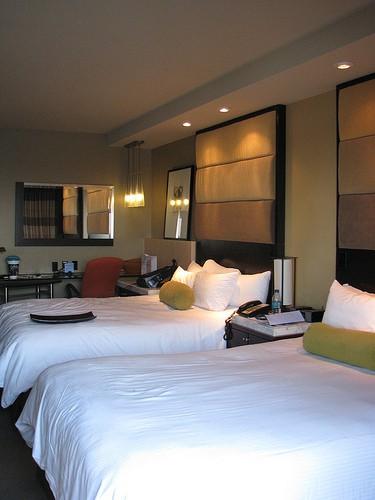 Disney contemporary resort room