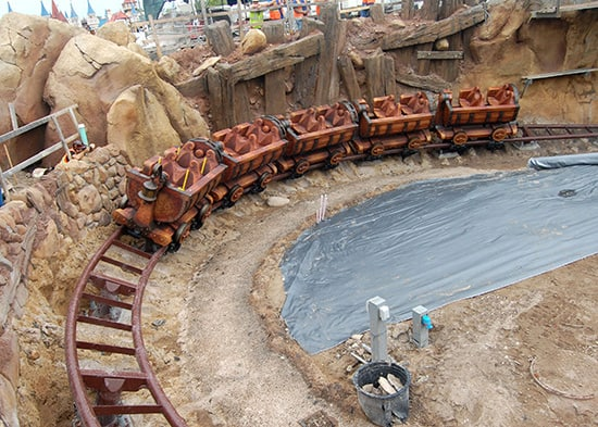 Seven Dwarfs Mine Train Ride Opening  Update