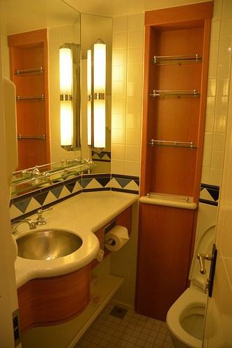 Disney Cruise Split Bathroom