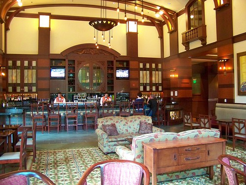 Disney Grand Californian Hearthstone Lounge