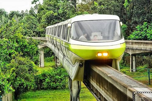 disney world resort monorail closure