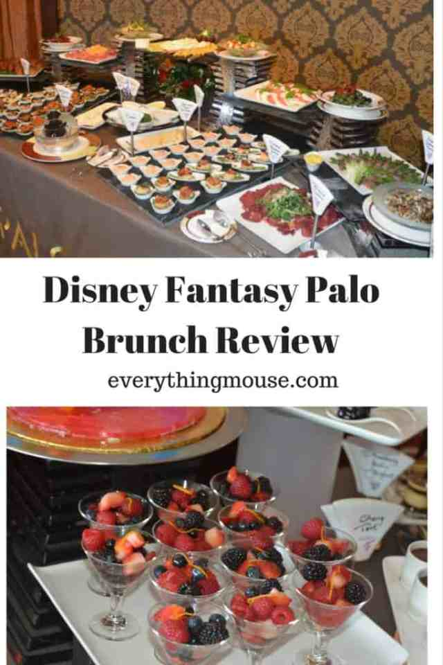Disney Fantasy Palo Brunch Review