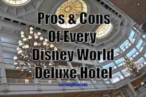 Disney World Deluxe Hotel