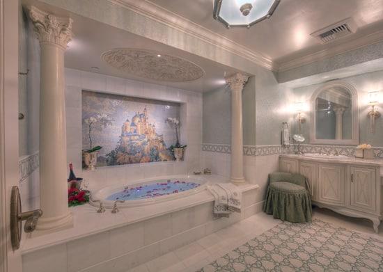 Disneyland hotel fairy tale suite