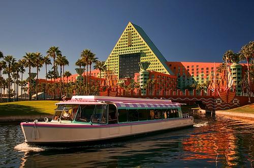 Disney World Boat Transportation
