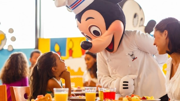 Chef mickey brunch