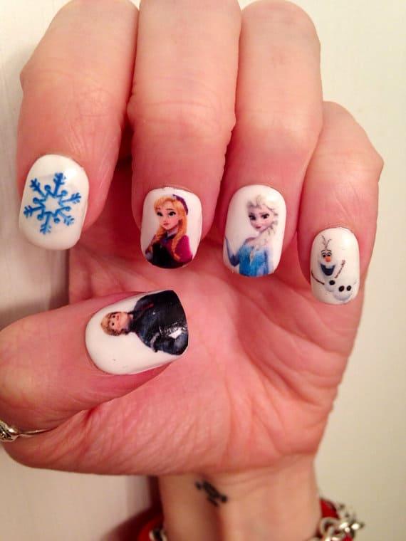 Buy Disney Frozen Nail Decals
