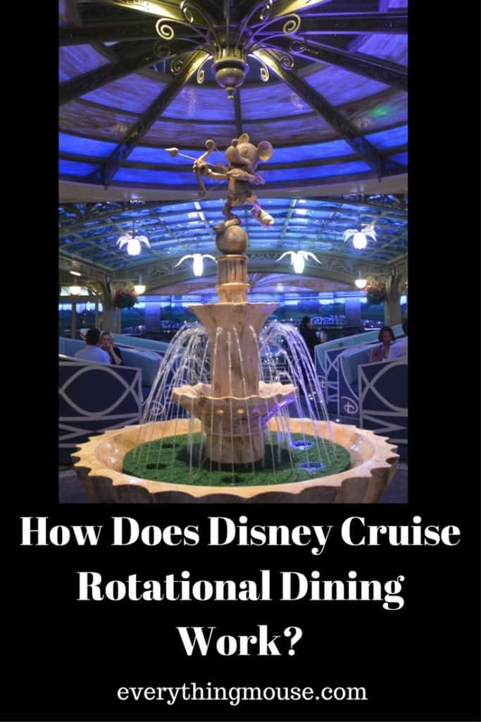 How Does Disney Cruise Rotational Dining Work_