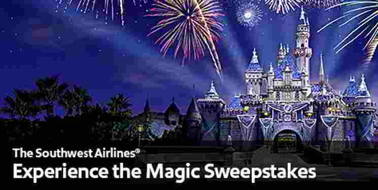 Southwest-Airlines-Experience-the-Magic-Disney-Sweepstakes