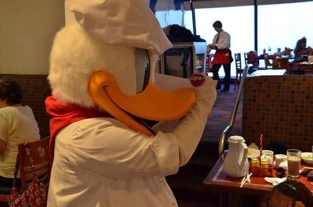 Disney World's Chef Mickey Character Dinner at the Contemporary Resort
