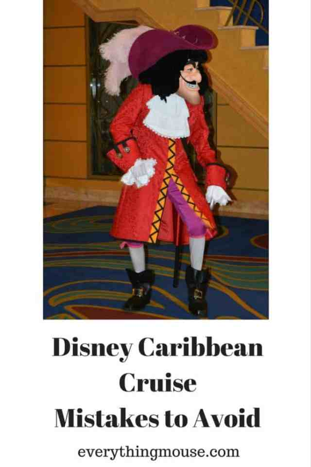 Disney CaribbeanCruise Mistakes to Avoid