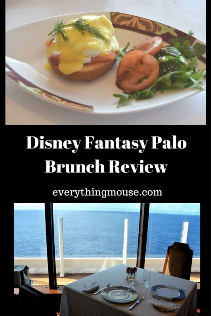 Disney Fantasy Palo Brunch Review