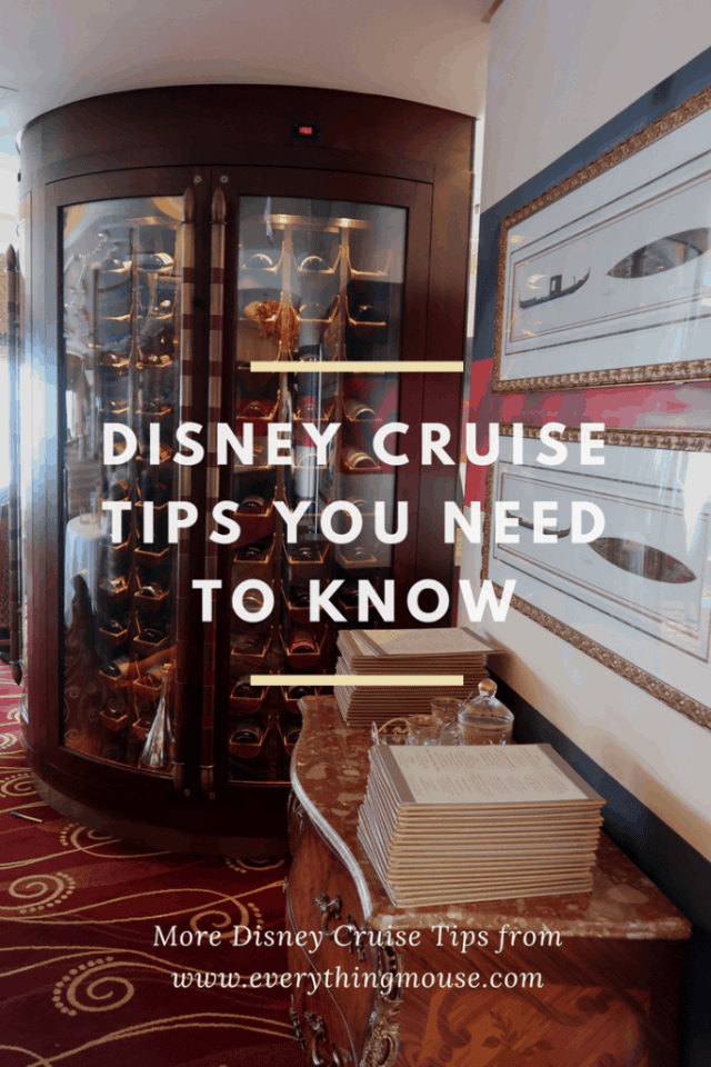 Disney Cruise Tips YOu Need to Know