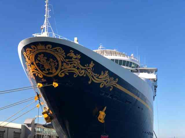 Disney Wonder Port of San Diego