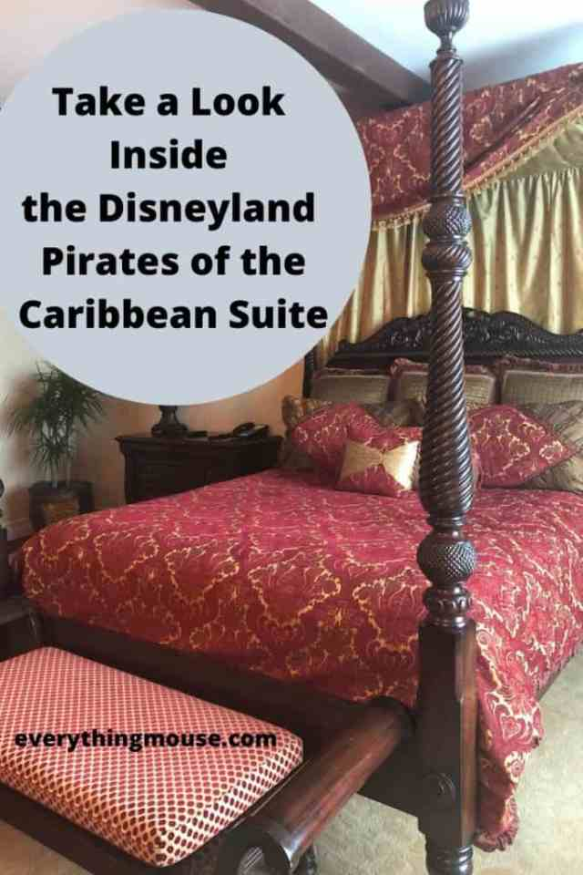 Take a Look Inside the Disneyland Pirates of the Caribbean Suite