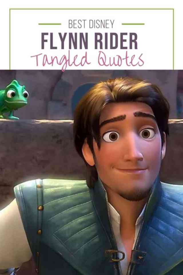 Flynn Rider Quotes Everythingmouse Guide To Disney