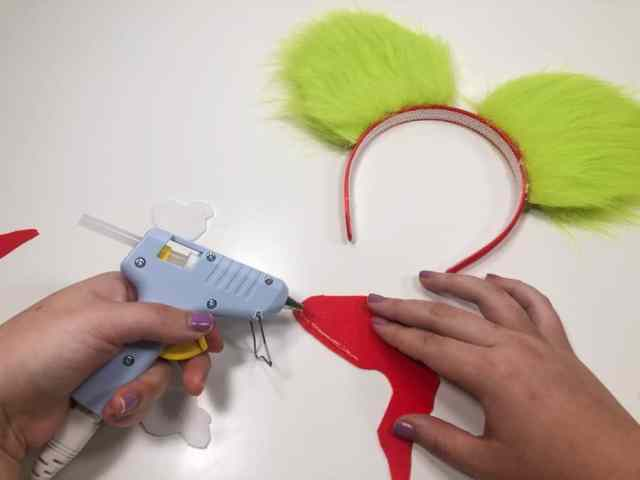 Mickey Christmas Ears DIY