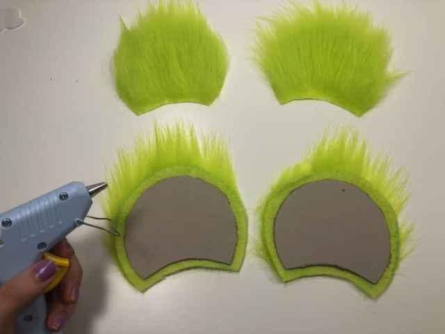 Homemade Mickey Christmas Ears
