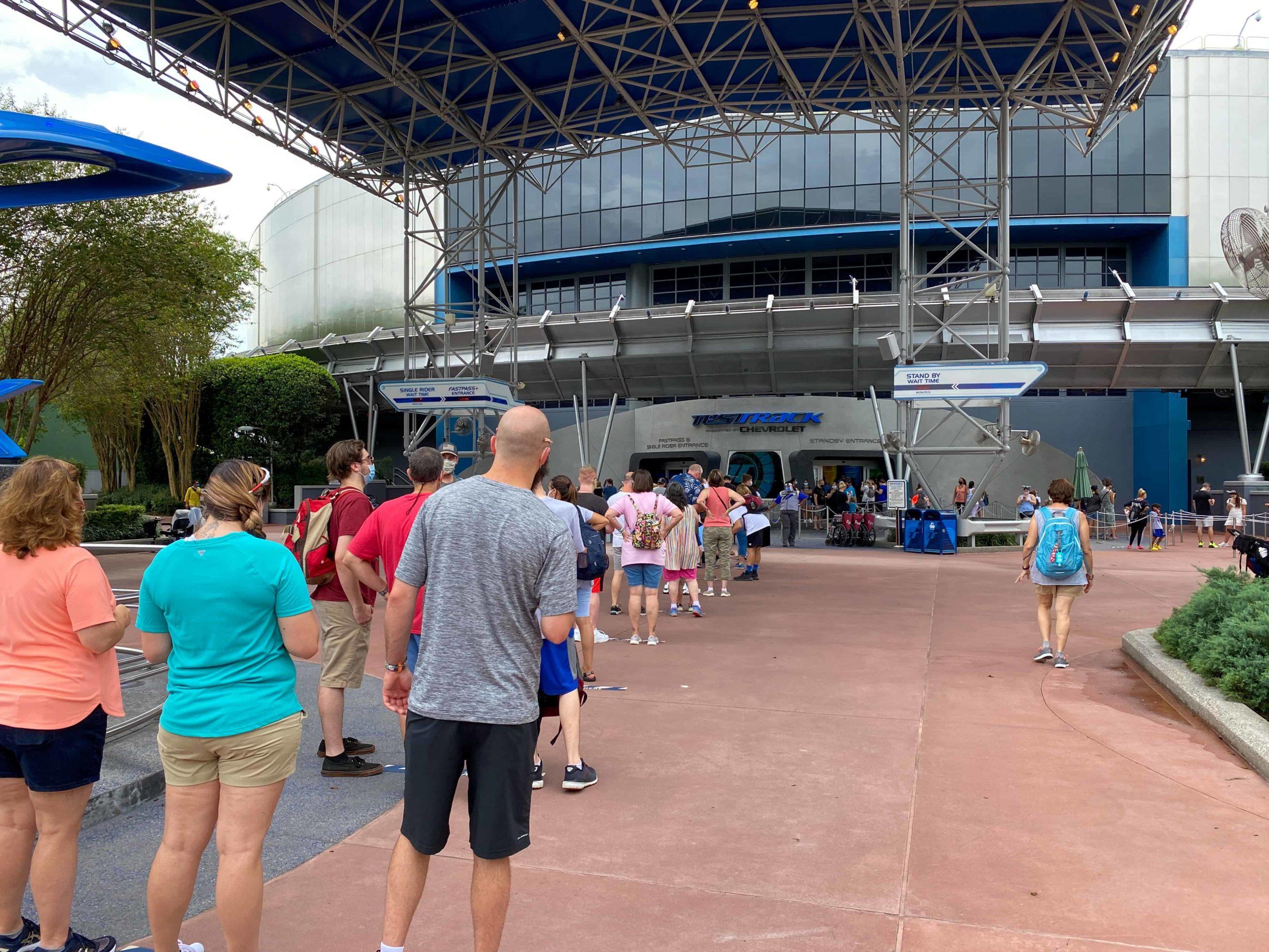 single rider lines at Disney World