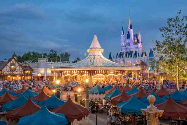Disney Magic Kingdom Rides