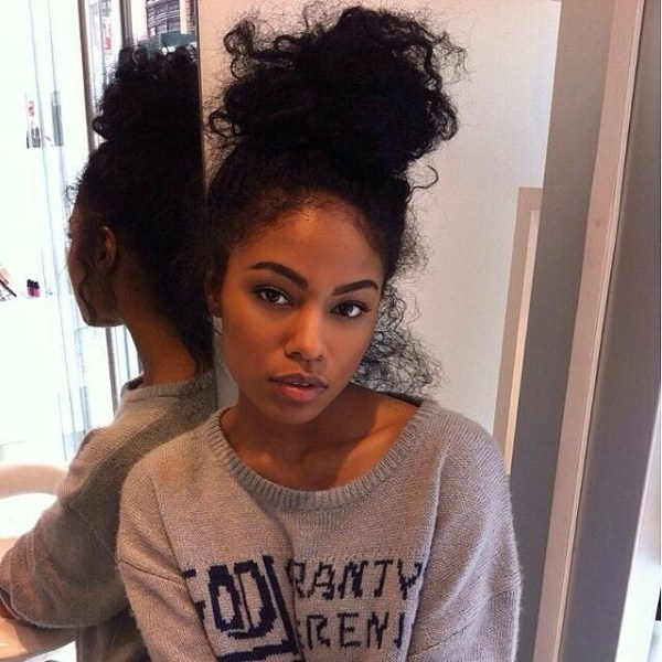 30 High Bun Curly Weave Hairstyles Hairstyles Ideas Walk The Falls