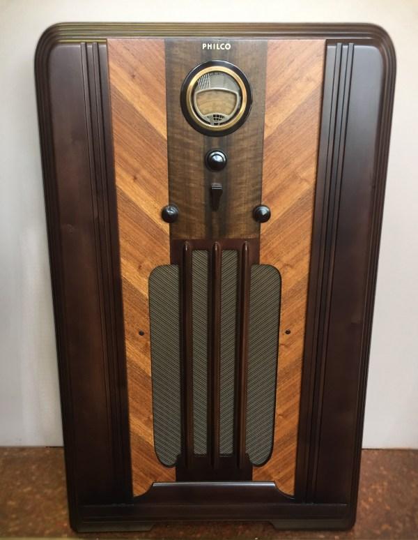 Radio Cabinet Restoration