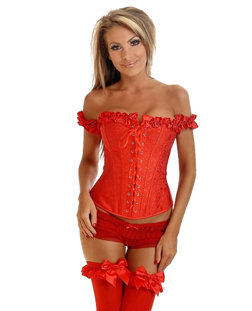 Red-Peasent-Corset