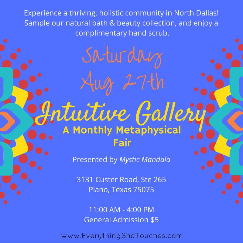 Intuitive Gallery, Dhana Yoga Center, plano, dallas tx, holistice festival, metaphysical fair, holistic community, holistic festival of life