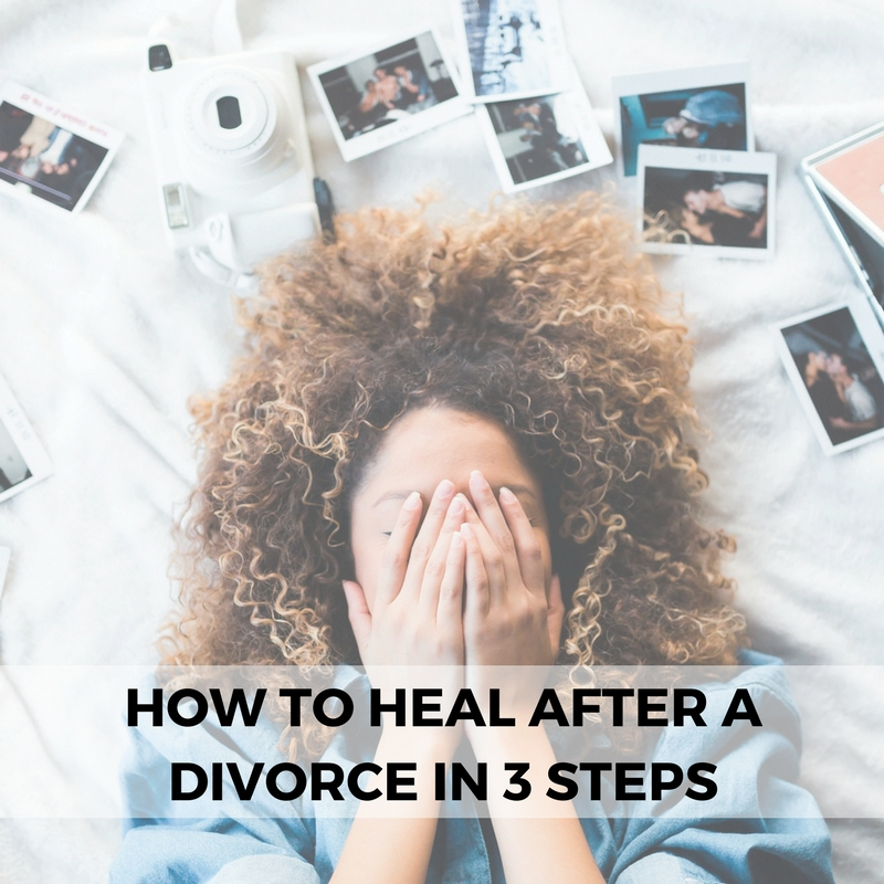 How to Heal From a Divorce by Dominique Wilson