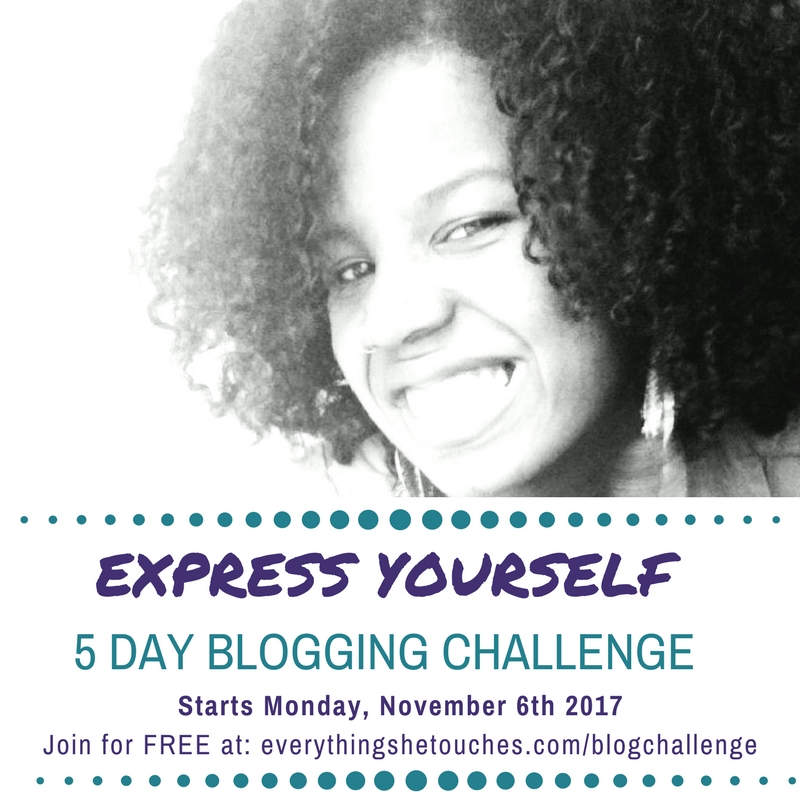 Express Yourself 5-Day Blogging Challenge for Women with Spiritual Businesses