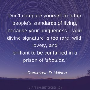Self-Confidence Quote by Dominique D Wilson