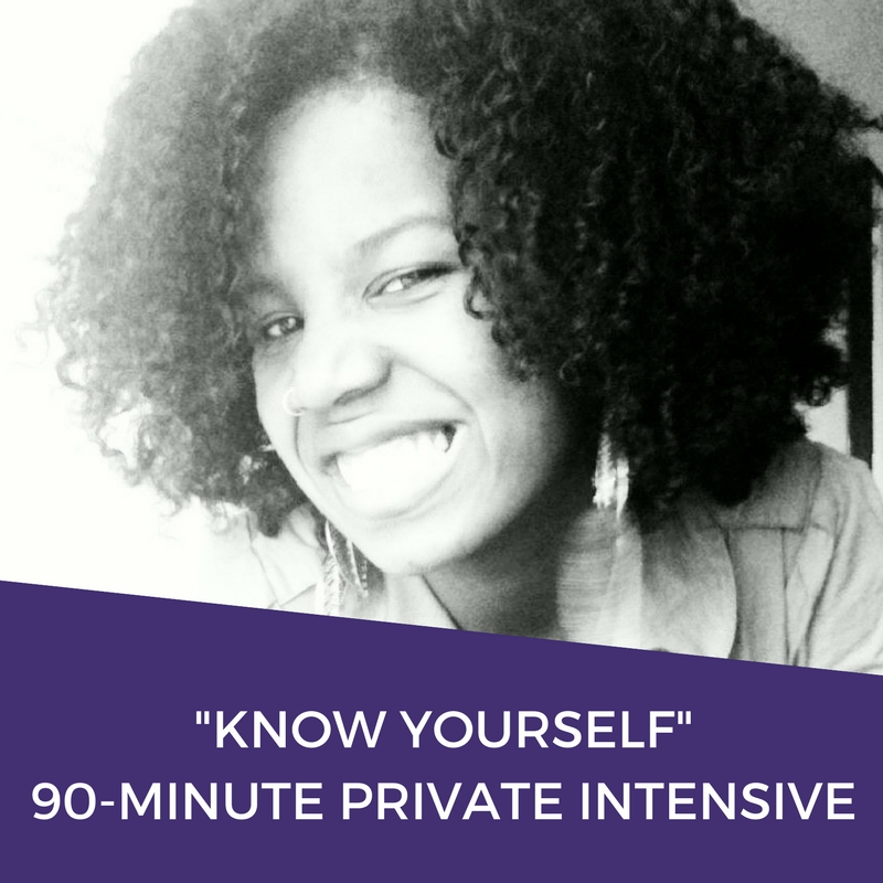 Know Yourself Private Intensive | Dominique D Wilson